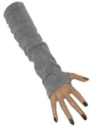 Gala armwarmer lurex zilver 60 den one size 1