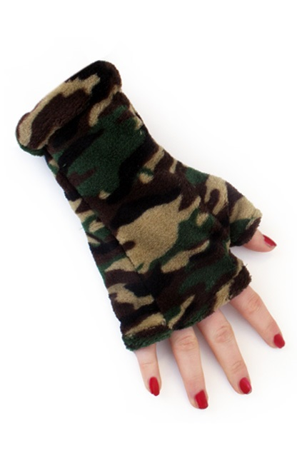 Softy gloves camouflage print one size 1