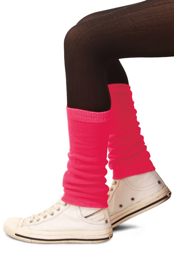 Beenwarmers kinderen pink 1