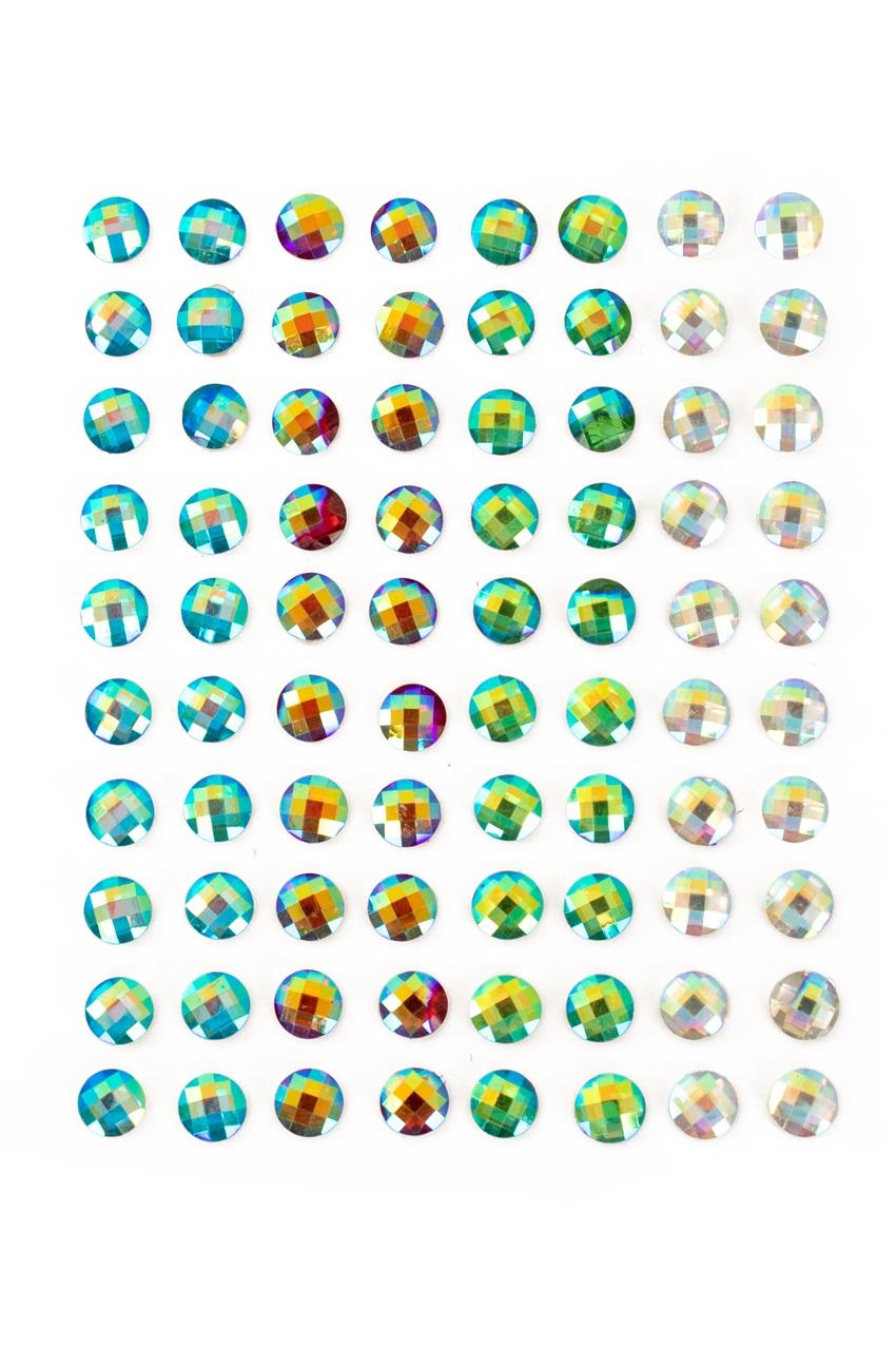 PXP Professional Colours Decoratiestickers rondje 80st ass