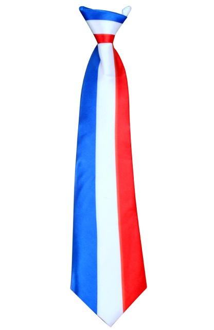 Stropdas satijn Frankrijk 1