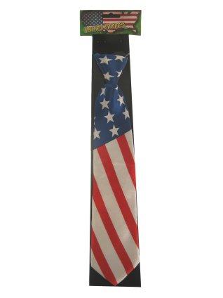 Stropdas satijn Amerika USA 1