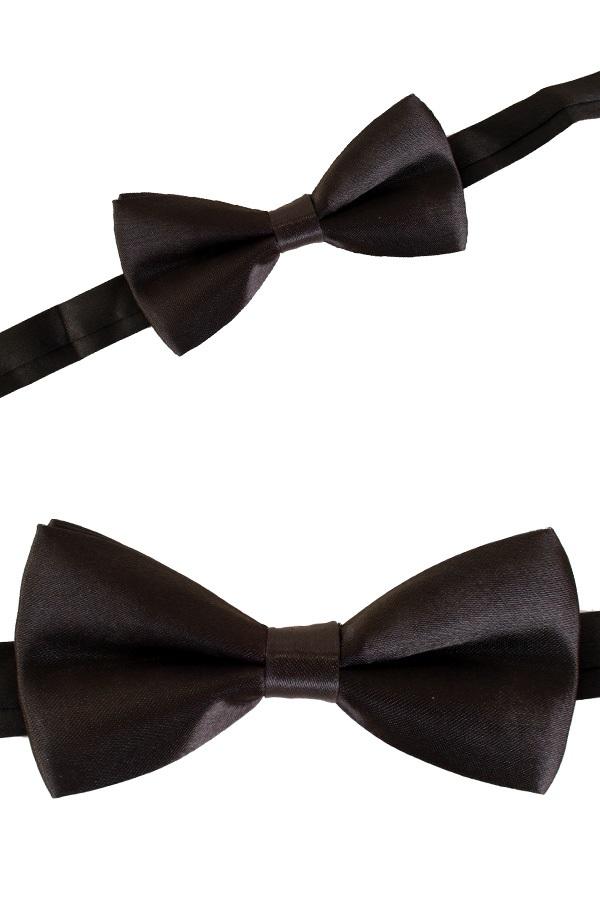 Charlystrik satijn zwart 10 x 5 cm