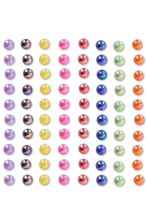 """Decoratiestickers  Rainbow """" 6mm"""" 1"""