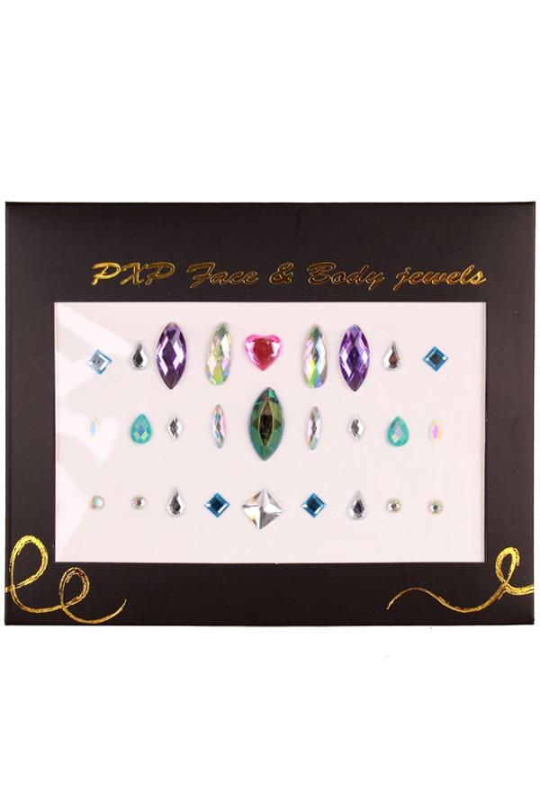 PXP Face & Body jewels Model B 1