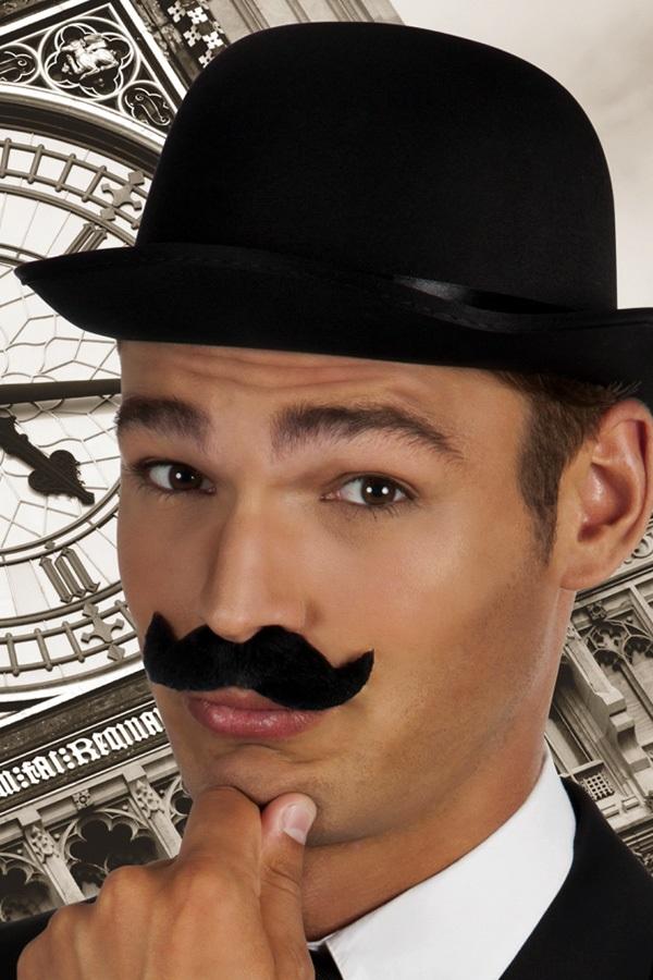 Snor Gentleman zwart 1