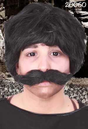 Snor Ted zwart 1