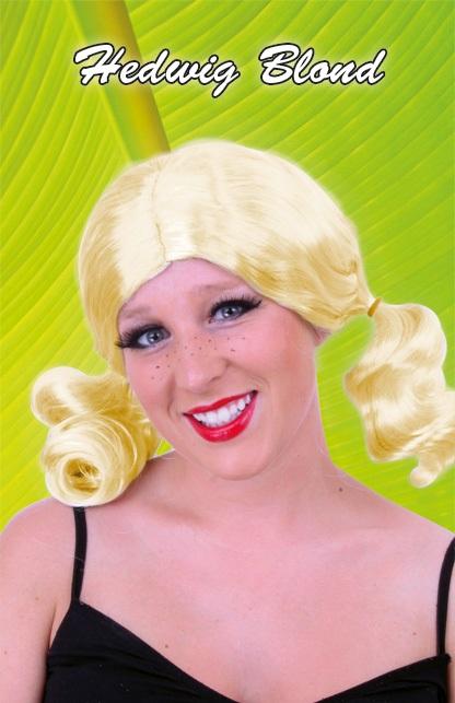 Pruik Hedwig blond 1