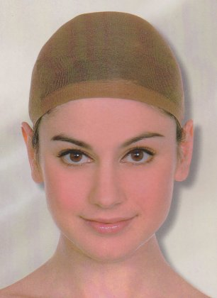 Haarkapje dames bruin 1
