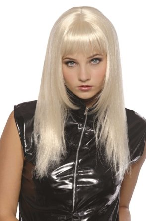 Pruik spicy blond 1
