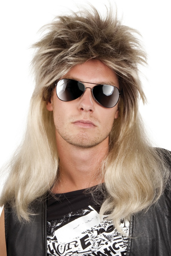 Pruik Ryan blond 1