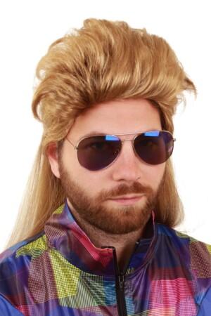 Pruik Mike blond
