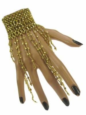 Armband goud met steentjes