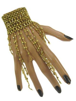 Armband goud met steentjes 1