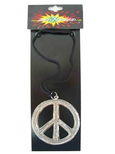 Peace ketting metaal pbh 1