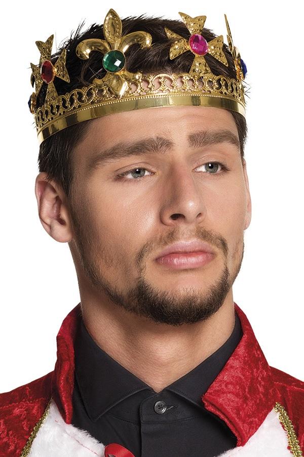 Koningskroon goud met diamanten 1