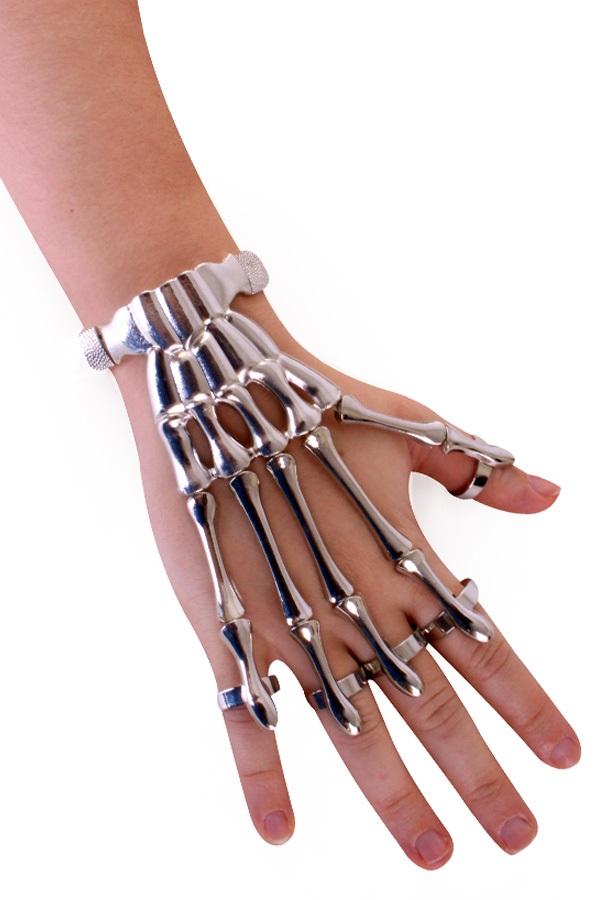 Armband skeletvingers 1
