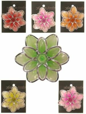 Waterlelie lichtgevend assortie kleur en clip