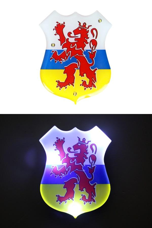 Speld met licht Provincie wapen Limburg 1