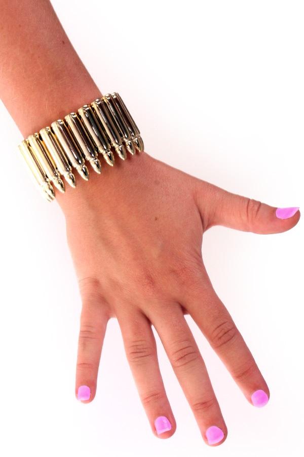 Armband gouden kogels 1