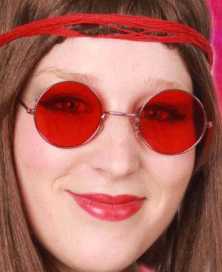 Uilebril rood glas 1