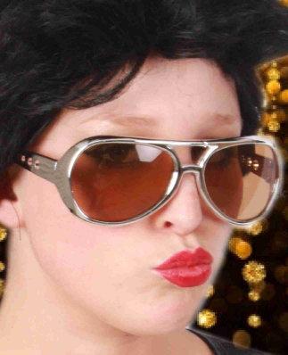 Elvis bril zilver populaire 1