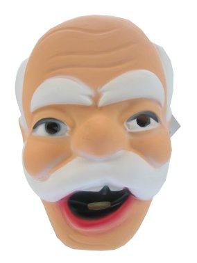 Masker abraham met snor plastic  1
