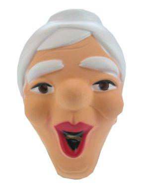 Masker sarah lachend plastic 1