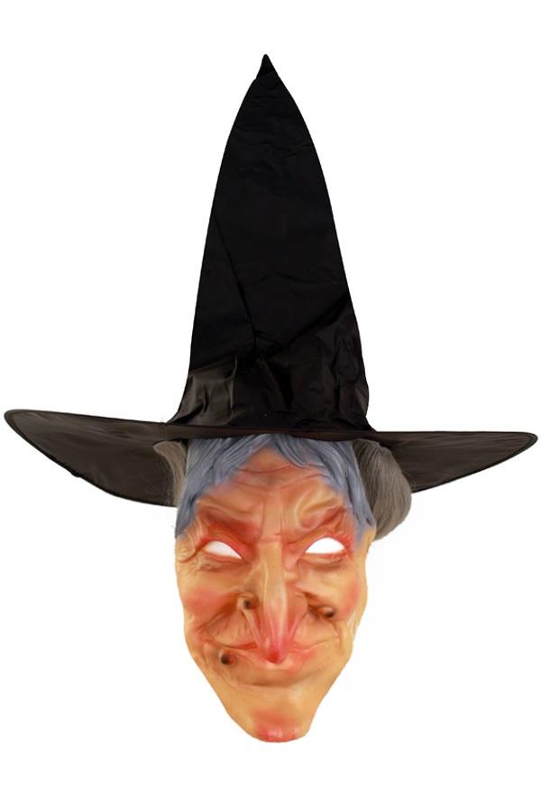 Masker heks met haar 1
