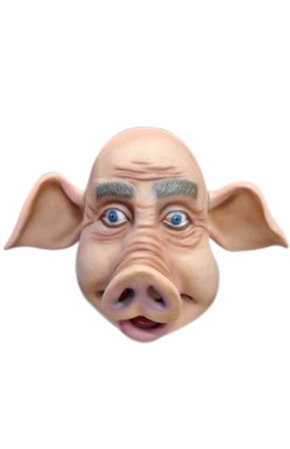 Masker varkenskop rubber 1