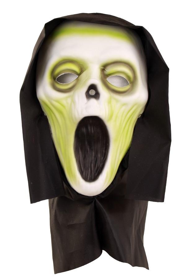 Masker Vynil scream met doek 1