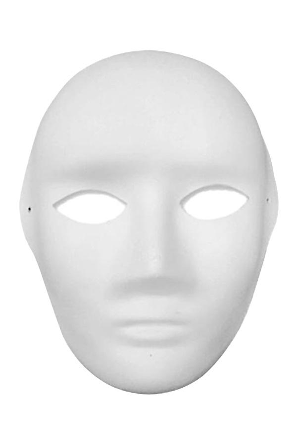 Masker man papier maché 1