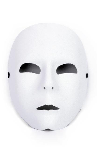 Masker wit 1