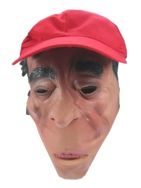 Masker rubber met pet japanner met zuinig mondje 1