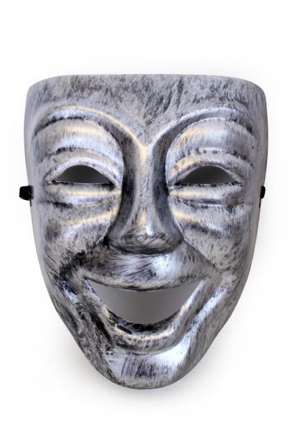 Masker nar zilver 1