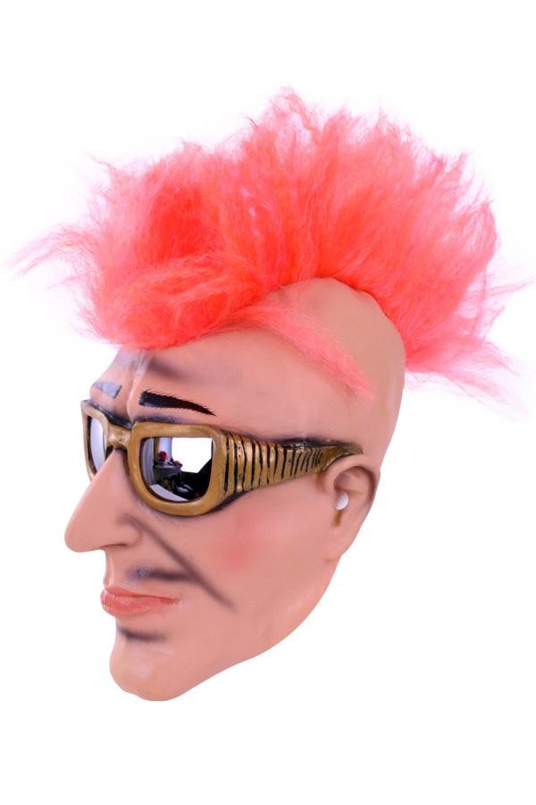 Masker man met zonnebril en hanekam 1