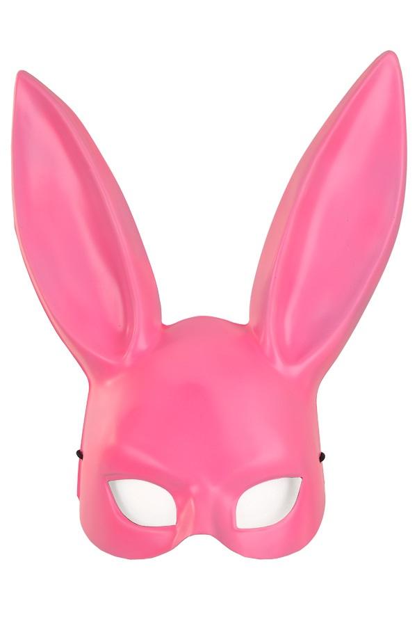 Half masker pink konijn 1