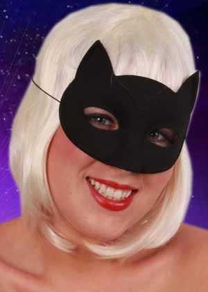 Oogmasker kat zwart 1