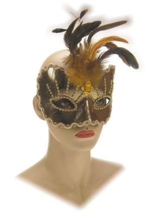 Oogmasker roma goud luxe 1