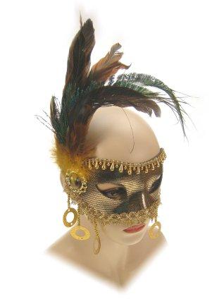 Oogmasker florence goud luxe 1