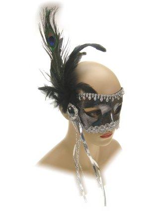 Oogmasker florence zilver luxe 1