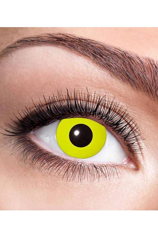 week lenzen per paar in doosje Yellow crow eye 1