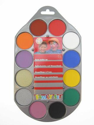 Schminkpallet Aqua 12 kleuren 1