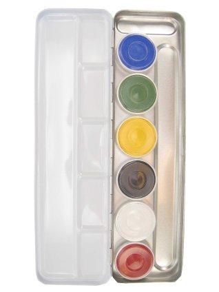 Superstar schmink palet aqua 6 kleuren (6x5gr) 1