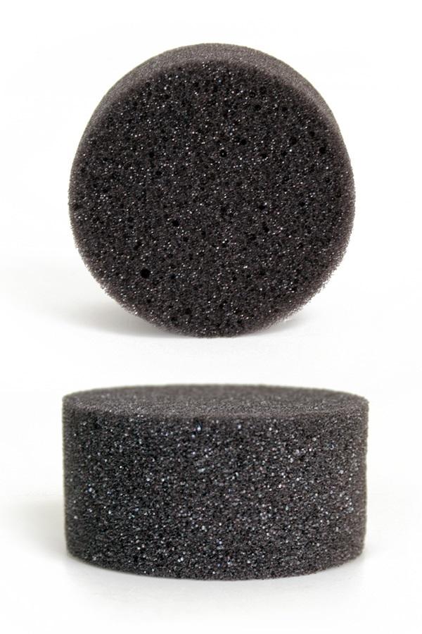 Grimeersponsjes 6×3 cm superstar antracite 1