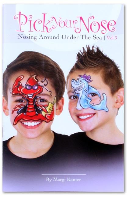 Schminkboek Pick your nose 3 by Margi Kanter  1