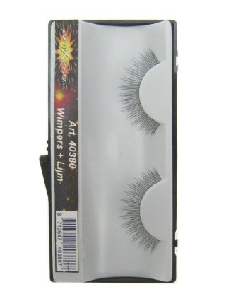 Wimpers zwart punten extra licht 1