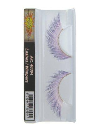 Wimpers van zachtroze naar paars 1