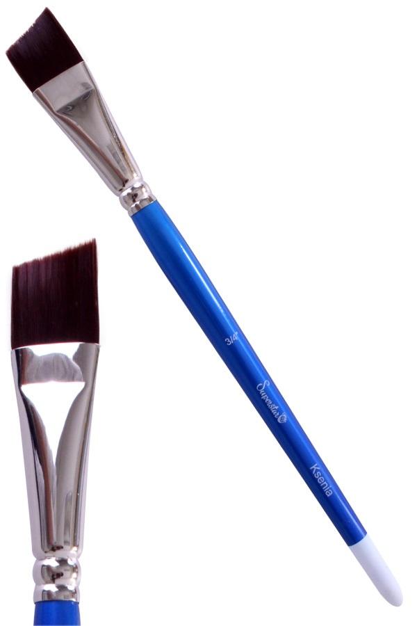 Synthetic Angle brush # 3/4 Ksenia SUPERSTAR 1