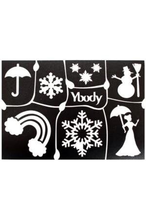A5 stencil Winter Y body